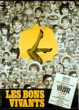 affiche du film BONS VIVANTS (LES)