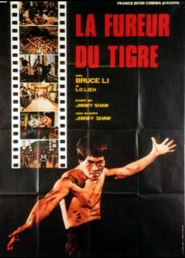 affiche du film FUREUR DU TIGRE (LA)