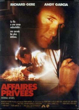 affiche du film AFFAIRES PRIVEES