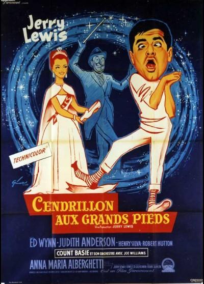 affiche du film CENDRILLON AUX GRANDS PIEDS
