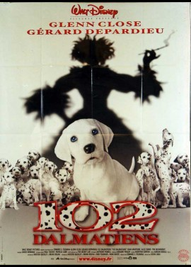 102 DALMATIANS / ONE HUNDRED AND TWO DALMATIANS movie poster