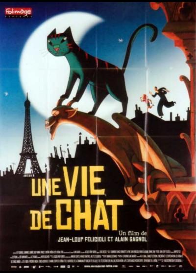 UNE VIE DE CHAT movie poster