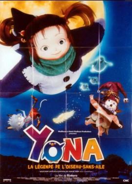 affiche du film YONA LA LEGENDE DE L'OISEAU SANS AILE
