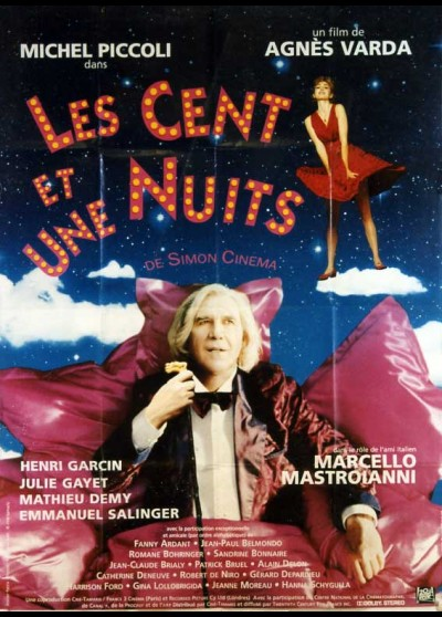 CENT ET UNE NUITS DE SIMON CINEMA (LES) movie poster