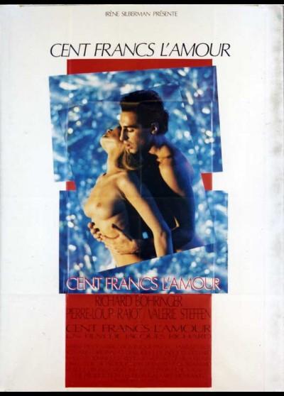 affiche du film CENT FRANCS L'AMOUR