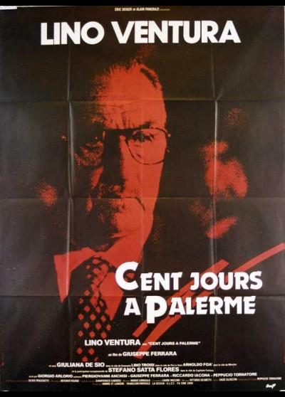 affiche du film CENT JOURS A PALERME