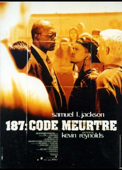 affiche du film CENT QUATRE VINGT SEPT CODE MEURTRE