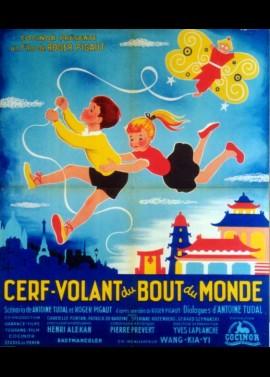 affiche du film CERF VOLANT DU BOUT DU MONDE
