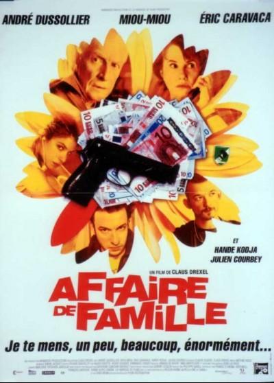 AFFAIRE DE FAMILLE movie poster