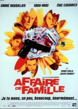 affiche du film AFFAIRE DE FAMILLE