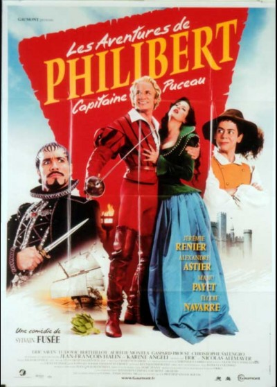 AVENTURES DE PHILIBERT CAPITAINE PUCEAU (LES) movie poster