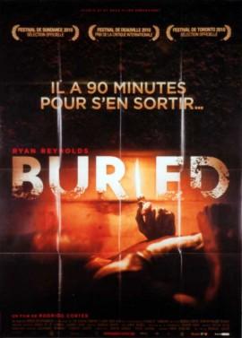 BURIED movie poster