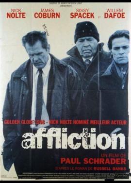 affiche du film AFFLICTION
