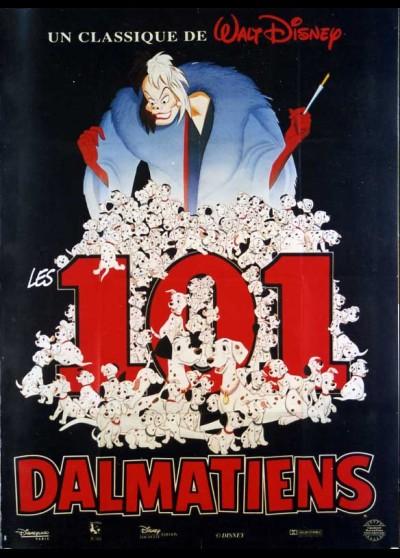 affiche du film CENT UN DALMATIENS (LES)