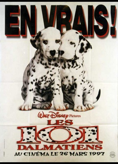 101 DALMATIANS / ONE HUNDRED AND ONE DALMATIANS movie poster