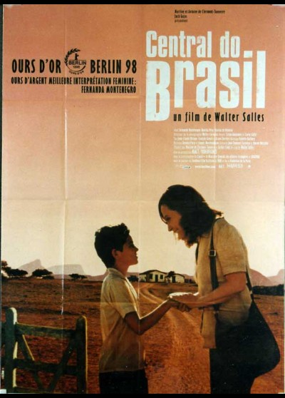 CENTRAL DO BRASIL movie poster
