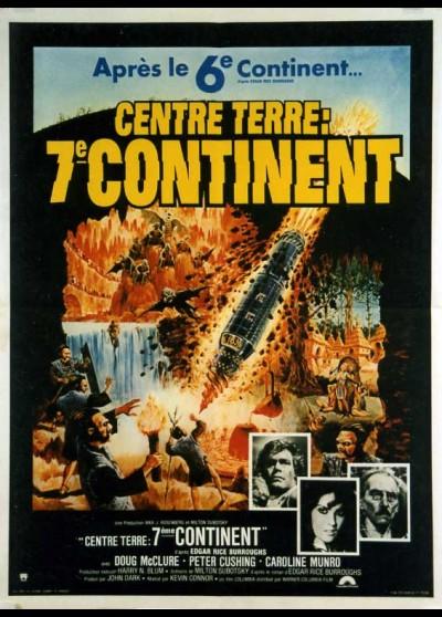 affiche du film CENTRE TERRE SEPTIEME CONTINENT