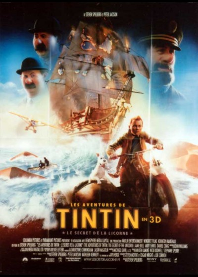 ADVENTURES OF TINTIN (THE) movie poster