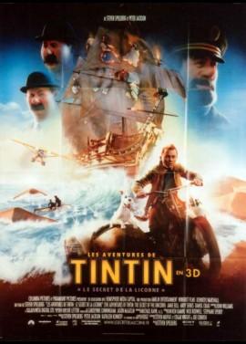 affiche du film AVENTURES DE TINTIN LE SECRET DE LA LICORNE (LES)
