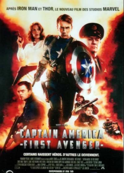 CAPTAIN AMERICA FIRST AVENGER movie poster