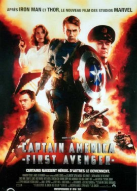 CAPTAIN AMERICA FIRST AVENGER movie poster