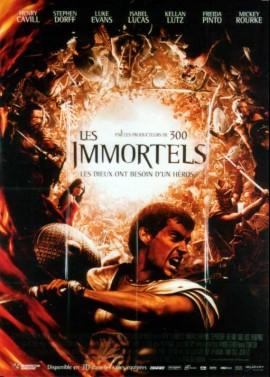 affiche du film IMMORTELS (LES)