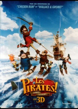 PIRATES BANDS OF MISFITS movie poster