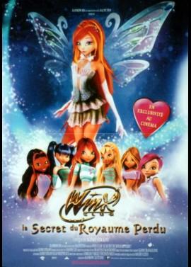 affiche du film WINX CLUB LE SECRET DU ROYAUME PERDU