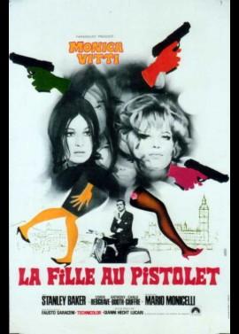 affiche du film LA FILLE AU PISTOLET