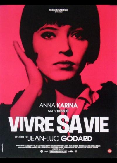 VIVRE SA VIE movie poster
