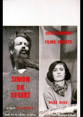 SIMON DEL DESIERTO movie poster