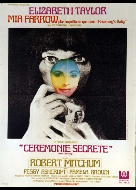 SECRET CEREMONY movie poster