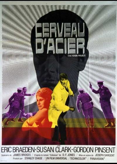 affiche du film CERVEAU D'ACIER