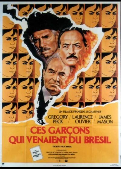 affiche du film CES GARCONS QUI VENAIENT DU BRESIL