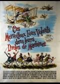 CES MERVEILLEUX FOUS VOLANTS DANS LEURS DROLES DE MACHINES