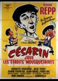 CESARIN JOUE LES ETROITS MOUSQUETAIRES