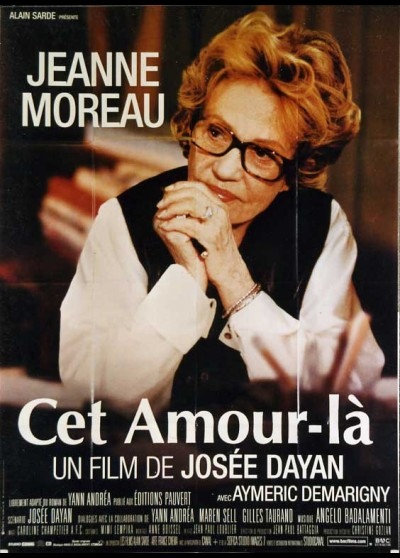 affiche du film CET AMOUR LA