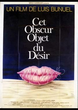 affiche du film CET OBSCUR OBJET DU DESIR