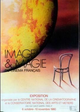 affiche du film IMAGE ET MAGIE DU CINEMA FRANCAIS