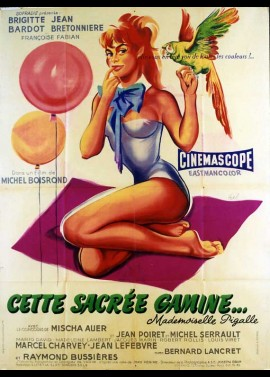 CETTE SACREE GAMINE MADEMOISELLE PIGALLE movie poster