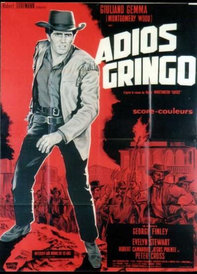 affiche du film ADIOS GRINGO