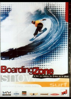 affiche du film BOARDING ZONE