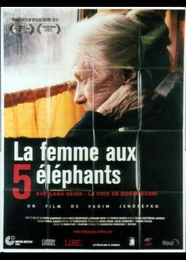 FRAU MIT DEN 5 ELEFANTEN (DIE) movie poster