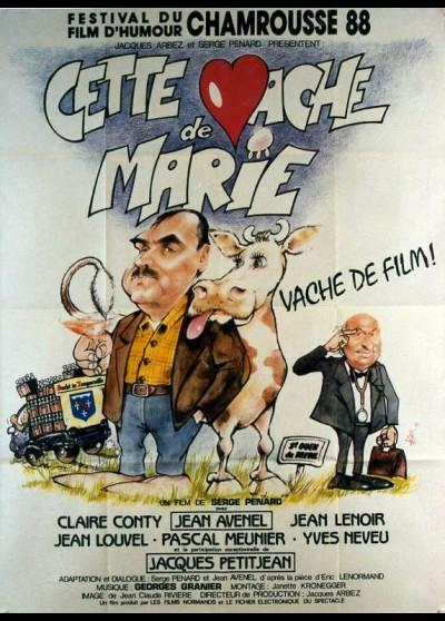affiche du film CETTE VACHE DE MARIE