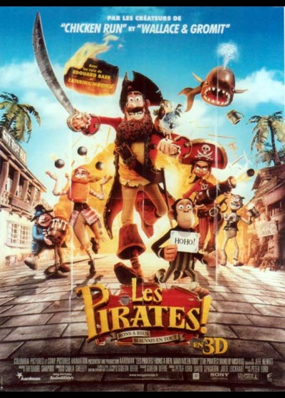 PIRATES BAND OF MISFITS (THE) movie poster