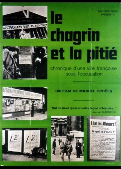 CHAGRIN ET LA PITIE (LE) movie poster