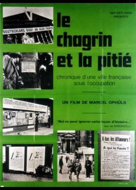 affiche du film CHAGRIN ET LA PITIE (LE)