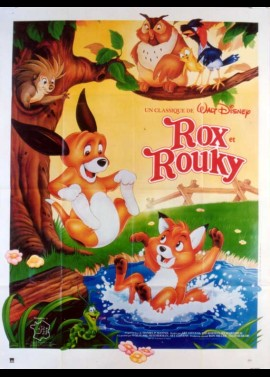 FOX AND THE HOUND (THE) movie poster