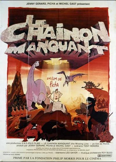 CHAINON MANQUANT (LE) movie poster