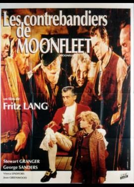 affiche du film CONTREBANDIERS DE MOONFLEET (LES)